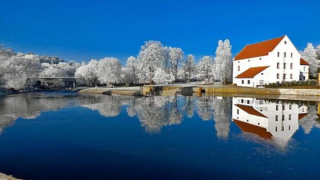 Zimní zátiší zachyceno objektivem Martina Suka.