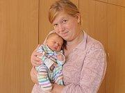 Nikola Hřebíčková se narodila 13.září 2017 v Čáslavi. Po porodu vážila 2550 gramů a měřila 50 centimetrů. Domů do Okřesanče si i odveze maminka Helena Hřebíčková