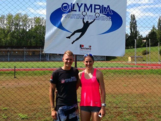 Zuzana Hejnová trénovala v úterý na kutnohorském stadionu Olympia, kde ji potkal i náš sportovní redaktor Michal Pavlík.