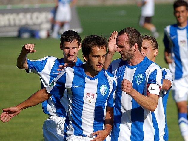 2. kolo II. ligy: Čáslav - Vlašim 3:0, 12. srpna 2012.