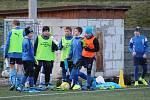 Fotbalový přípravný zápas mladších žáků: FK Čáslav - FK Uhlířské Janovice 12:9 (2:2, 3:1, 4:3, 3:3).