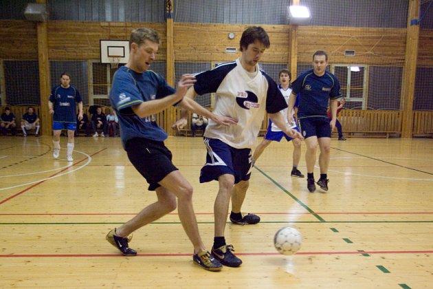 Futsal liga: 14. hrací den kutnohorské Futsal ligy Restaurace Na Valech, čtvrtek 12. února 2009