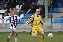 Z utkání II. fotbalové ligy FC Zenit Čáslav - FC Hlučín (0:2)