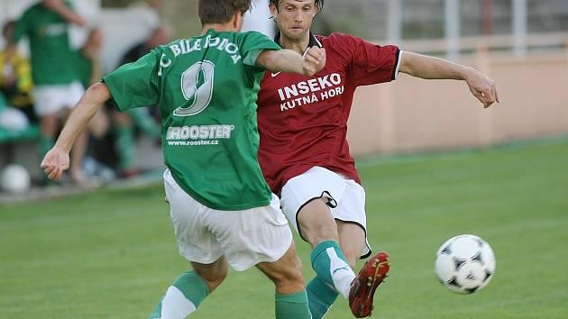 Přípravný zápas Kutná Hora - Bílé Podolí 5:0