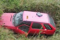 Dopravní nehoda u obce Horky u Čáslavi: 17. srpen 2014, přibližně 8.30 hodin