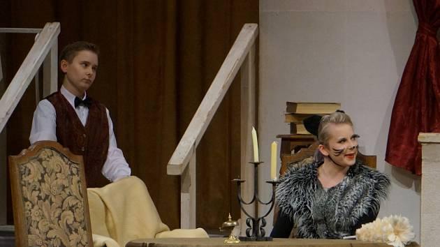 Premiéra hry Panství pana Norise v Tylově divadle v Kutné Hoře 12. února 2016