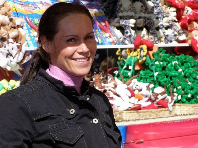 Na Sedlecké pouti můžete letos potkat i sympatickou Editu.