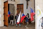 Ze setkání u příležitosti 30. výročí sametové revoluce v Kutné Hoře.