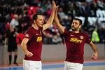 Futsalová Sparta Praha se představí v kutnohorské sportovní hale Klimeška, kde odehraje ligový zápas s Helasem Brno.