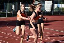 Atleti Kutné Hory zápolili na závodech v Kolíně