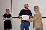 Čáslavská hasičská stanice získala ocenění Stavba roku.
