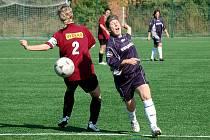 2. kolo III. ženské ligy: Kutná Hora - Všestudy, 5. září 2010.