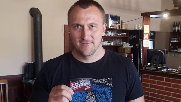 Vítěz jarní části TIP ligy 2019 - Roman Černý.