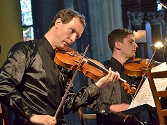 Pondělní koncert v Chrámu svaté Barbory zahájilo Bennewitzovo kvarteto