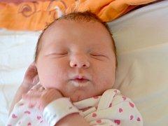Michaela Bláhová se narodila 7. července v Kolíně. Měřila 50 centimetrů a vážila 3115 gramů. S maminkou Kateřinou a tatínkem Michalem bude bydlet v Kutné Hoře.