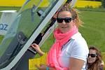Ve Zbraslavicích se koná mistrovství světa žen v plachtění.