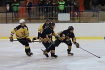 Hokejové ročníky 2002 až 2004 změřily síly v Kutné Hory. Domácí Sršni prohráli s kanadským týmem Whitby Wildcats 2:3.