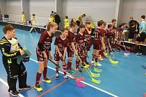 Mladší žáci FBC Kutná Hora na turnaji v Berouně.