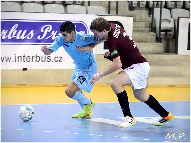 2. kolo CHANCE futsal ligy: Sparta Praha - FC Benago Zruč n. S. 5:3.