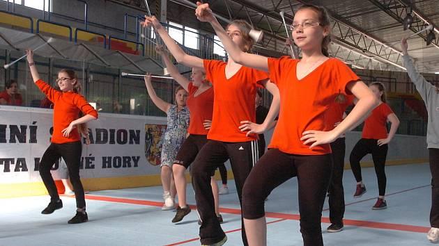 Tréning před semifinále MS ČR. 4.5. 2012