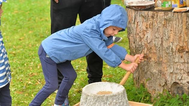 Klášter v Sázavě, spolu se Spolkem Po stopách našich předků připravil pro děti v sobotu 29. srpna již tradiční archeoden.
