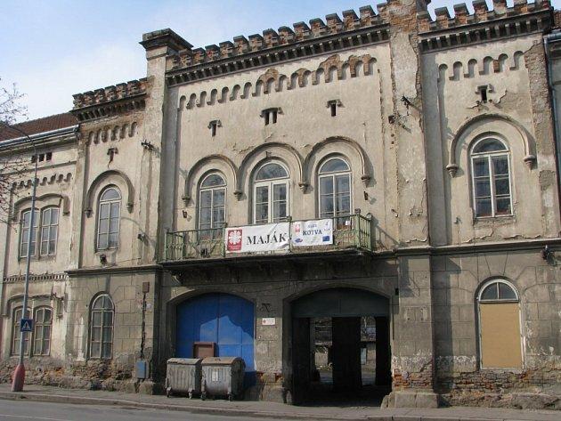 Tellerův cukrovar. V roce 2008 ještě sloužil jako městská ubytovna a zázemí pro charitní střediska Maják a Kotva.