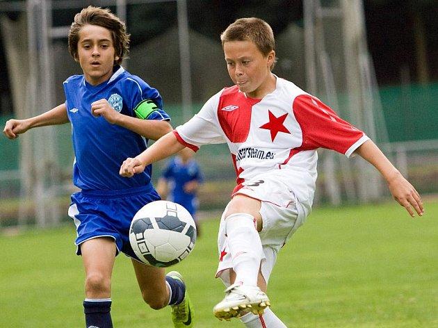 Fotbal divize žáků: Ml. žáci Čáslav - Slavia B 0:2, sobota 29. srpna 2009