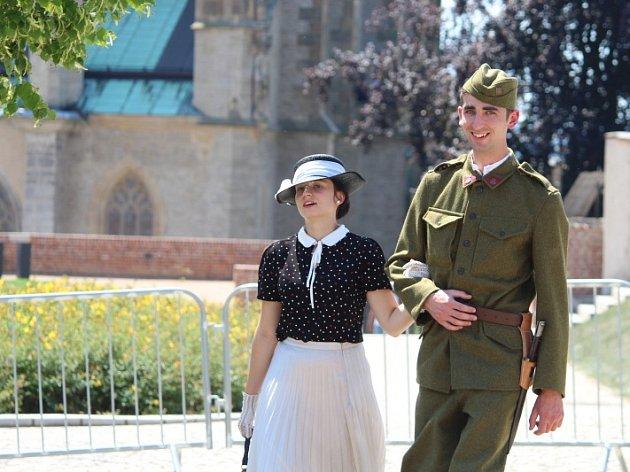 Prvorepubliková slavnost v Kutné Hoře.