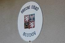Obecní úřad Bludov na Kutnohorsku.