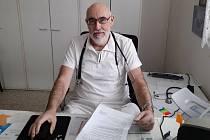Praktický lékař Martin Fanta.