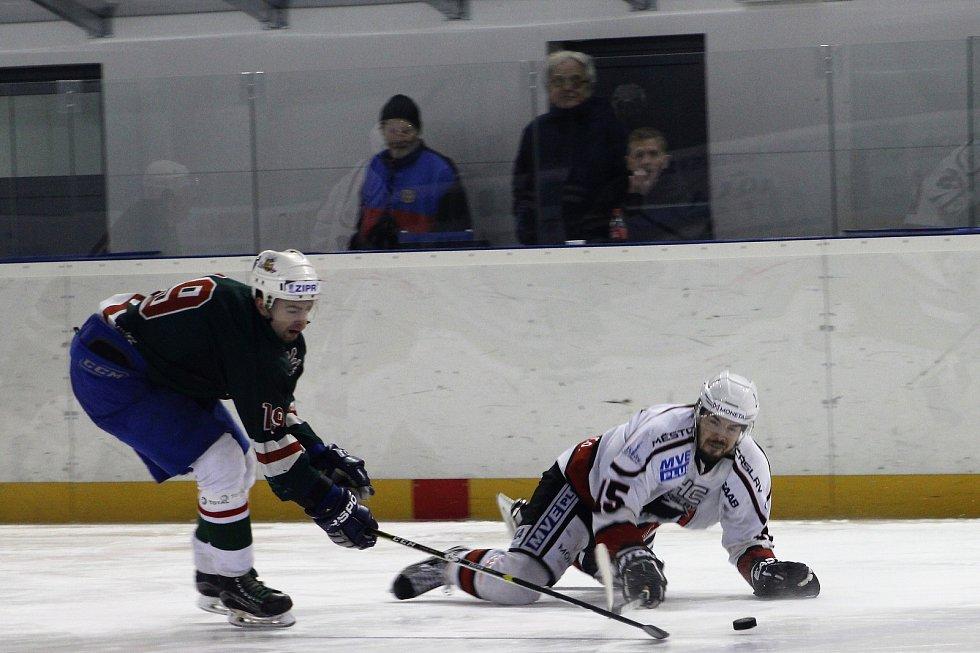 Čáslav na domácím ledě oplatila Žabonosům porážku z prvního vzájemného utkání