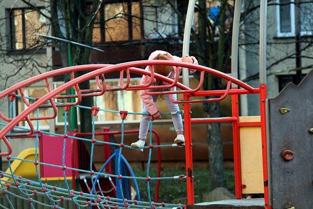 Dětské hřiště vKutné Hoře.
