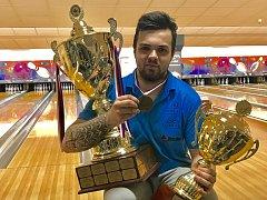 Bowlingář Tomáš Plechata s týmem Bowling Olomouc získal titul mistra České republiky