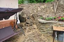 Velká voda v Bylanech červen 2013