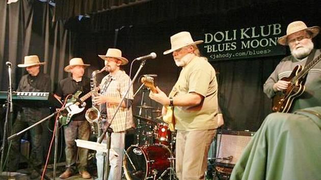 Čáslavská skupina Gamba Blues Band