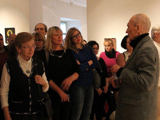 GASK přivítal básníka J.H. Krchovského a malíře Pavla Brázdu