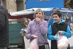 První den Sedlecké poutě 5. dubna 2012