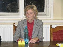 Zručská místostarostka Alena Hajská.