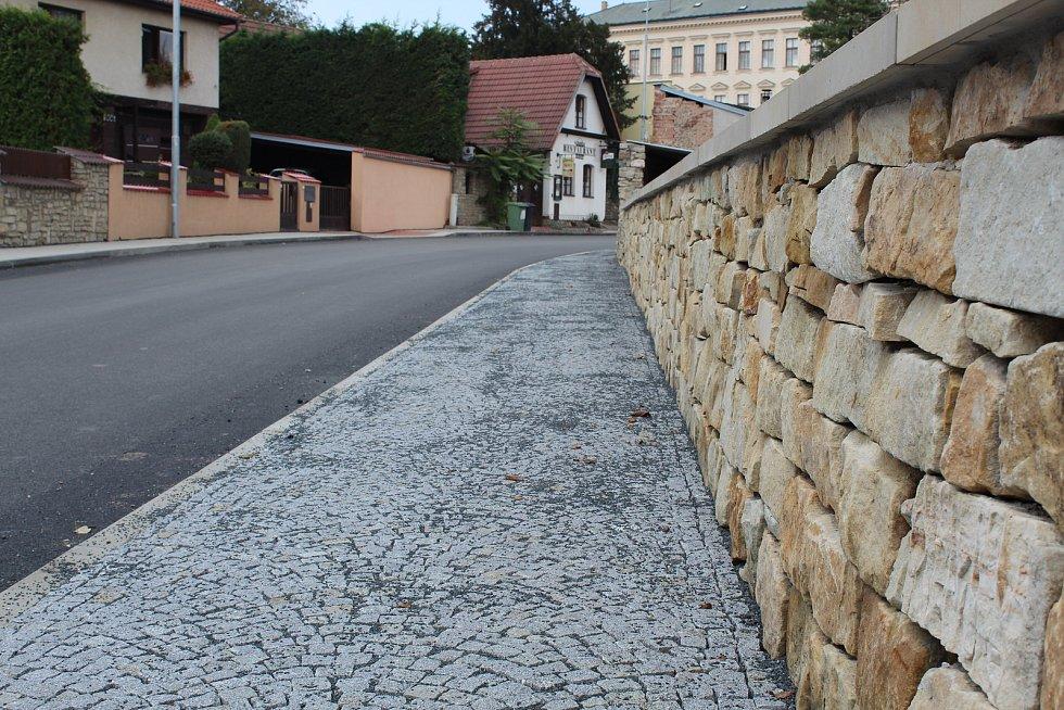 Kremnická ulice v Kutné Hoře.