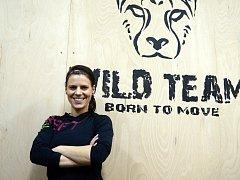 Trenérka a majitelka WILD Gymu v Kutné Hoře Veronika Muchová.