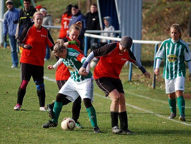 III. liga žen: Kutná Hora - Bohemians 1905 0:1, 10. listopadu 2012.