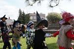 Čarodějnice v MŠ na Čeplově v Čáslavi