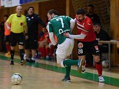 Futsalisté Benaga Zruč nad Sázavou prohráli domácí zápas 21. kola Chance futsal s Litoměřicemi 2:3.