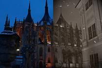 Kutnohorsko včera a dnes. Ilustrační foto