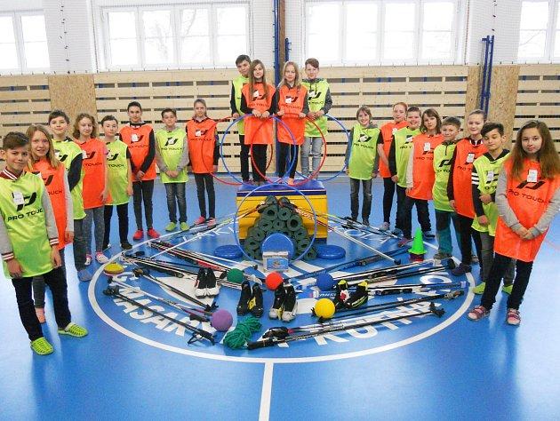 Projekt Českého olympijského výboru na Základní škole T. G. Masaryka téměř zdomácněl.