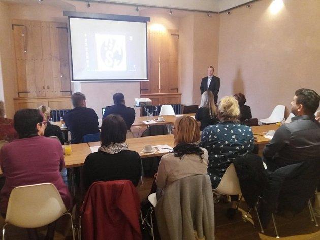 Workshop zahájil Milan Fára z Krajského úřadu Středočeského kraje.