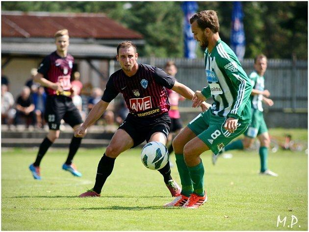 Čáslav podlehla Bohemians Praha 0:3, 12. července 2014.