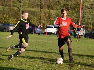 Fotbalisté Malešova hráli ve 12. kole okresního přeboru doma s Církvicí