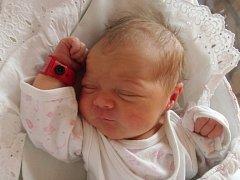 Natálie Chmelová se narodila 12. března v Čáslavi. Vážila 3200 gramů a měřila 50 centimetrů. Doma v Bylanech ji přivítali maminka Petra a tatínek Michal