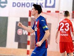 14. kolo Chance futsal ligy: SK Slavia Praha - FC Benago Zruč n. S. 5:6 (3:2).